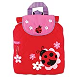 Stephen Joseph Quilted Backpack, Ladybug