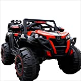XITER Piano Children's Remote Control Off-road Vehicle Can Take People Electric Car Four-wheel Drive Male And Female Baby 1-8 Years Old Bluetooth Remote Control ( Color : RED )