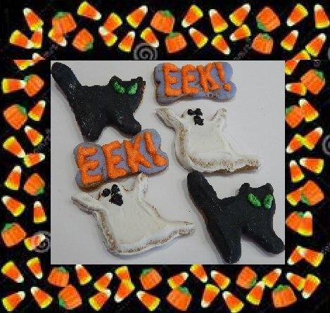 Homemade Halloween Bones (Give A Doggy A Bone Halloween Dog)