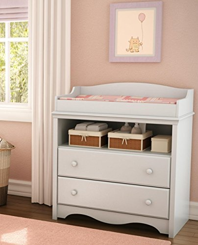 South Shore Heavenly Collection Changing Table, Pure White by South Shore