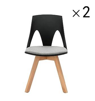 Esszimmerstühle Kunststoff yilianda 2er set lounge chair esszimmerstühle kunststoff rückenlehne
