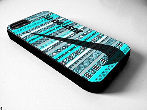 Just do it NIKE Geometric Aztec Iphone 4/4s 5 5c 6 6plus Case (iphone 5c black)
