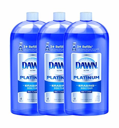 Dawn Direct Foam Dishwashing Foam Refill-Fresh Rapids-31 oz., 915 milliter (Pack of 3)