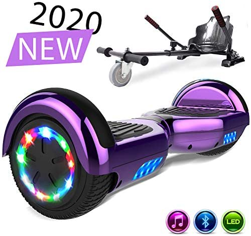 SOUTHERN-WOLF Patinete Eléctrico Hoverboard, Hover 6.5 Pulgadas ...