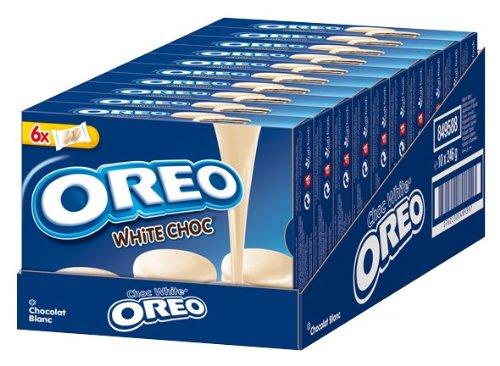 Oreo de chocolate White, 5 unidades (5 x 246 g): Amazon.es: Alimentación y bebidas