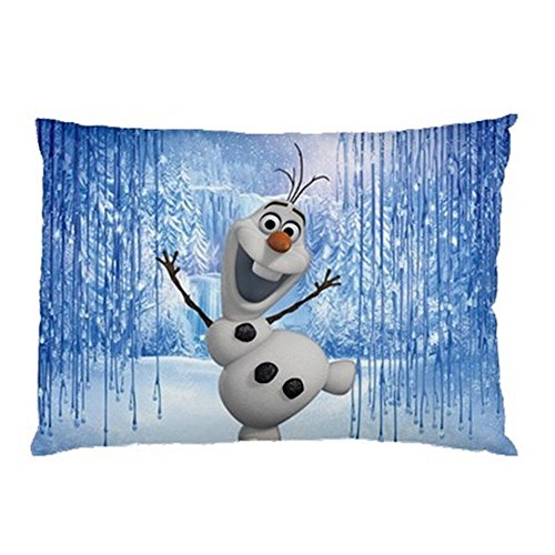 Happy Snowman Olaf FROZEN Pillow Case (2 Sides)