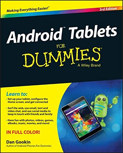 Price comparison product image Android Tablets For Dummies