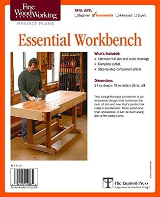 Fine Woodworking's Essential Workbench Plan by Taunton Press