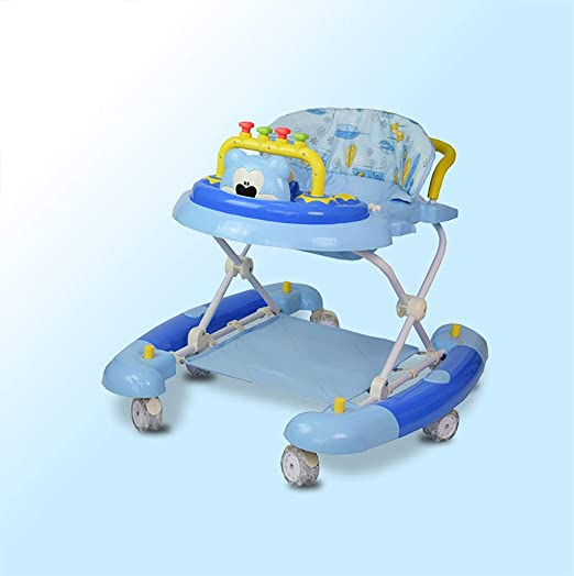 LFY Walk and Rock 2-en-1 Baby Walker Azul Andador para bebés ...