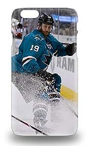 Iphone 6 NHL San Jose Sharks Joe Thornton #19 Tpu Silicone Gel 3D PC Soft Case Cover. Fits Iphone 6 ( Custom Picture iPhone 6, iPhone 6 PLUS, iPhone 5, iPhone 5S, iPhone 5C, iPhone 4, iPhone 4S,Galaxy S6,Galaxy S5,Galaxy S4,Galaxy S3,Note 3,iPad Mini-Mini 2,iPad Air )