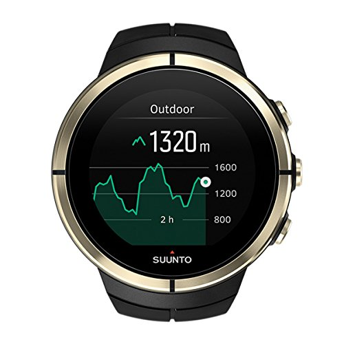 Suunto Spartan Ultra Watch & Heart Rate Monitor (Gold)