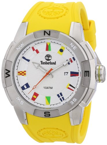 Timberland 13849JS.04A Mens Altamont Yellow Silicone Watch