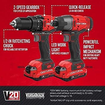 Craftsman CMCK200C2 featured image 2