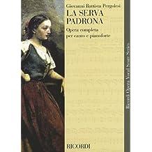 La Serva Padrona: Vocal Score
