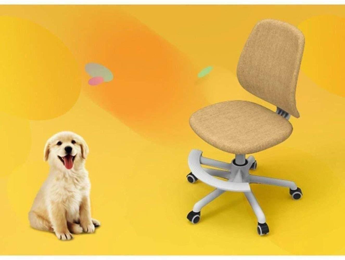 Barstolar Xiuyun svängbar stol – armlös mellanrygg nät uppgift datorstol – ergonomisk dator/kontorsstol spelstol (färg: Utan pedaler) With Pedals