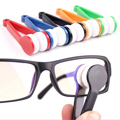 Voberry® 2014 Hot Selling 10Pcs Mini Eyeglass Microfiber Brush Cleaner for Sun Glasses Eyeglass (Random - Hot Sunglasses 2014