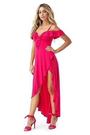 b52668426f52 Sky Women s Mafalda High Low Dress