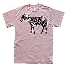 Stooble Men's Zebra Thumb Print T-Shirt
