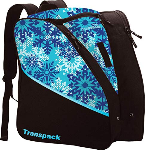 Edge Junior Ski Boots - Transpack Edge Junior Ski Boot Bag 2019 - Aqua Snowflake