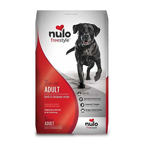 Nulo Adult Grain Free Dog Food: All Natural Dry Pet Food For Large And Small Breed Dogs (Lamb, 11Lb)