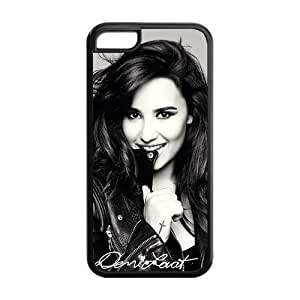 MMZ DIY PHONE CASECustomzie Your Own Singer Demi Lovato Back Case for iphone5C JN5C-1522