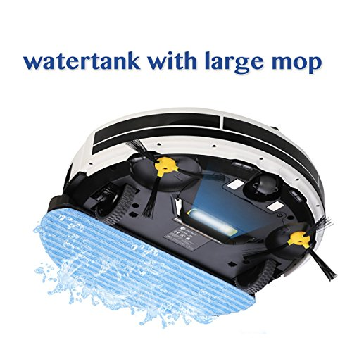 Everybody M2 Self Charging Robotic Vac Cleaner With Water