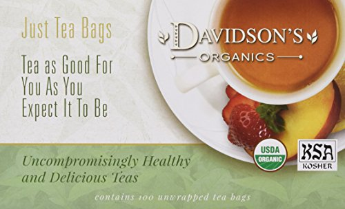 Tea 279 - Davidson's Tea Earl Grey, 100-Count Tea Bags