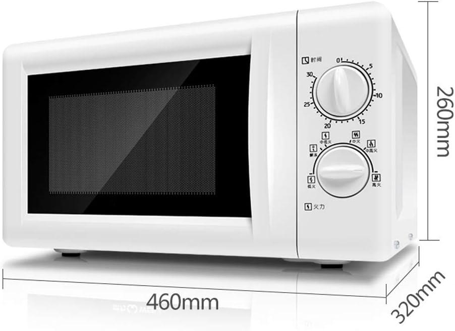 Hogar Horno microondas multifuncional temporizador mecánico de control del horno microondas 20L 700W con temporizador de 30 minutos