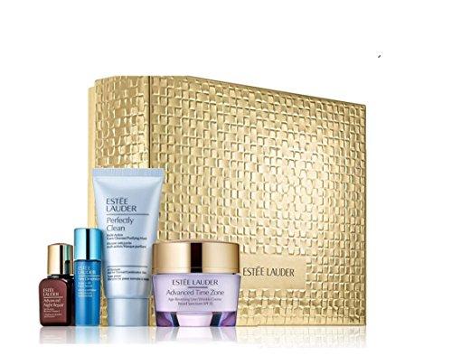 (Estee Lauder Anti-wrinkle Advanced Time Zone Essentials 4 PCS Collection Set)