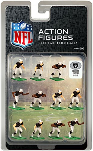 Oakland Raiders Home Jersey NFL Action Figure Set