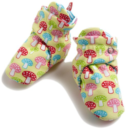 Zutano Baby-girls Infant Mushrooms Bootie