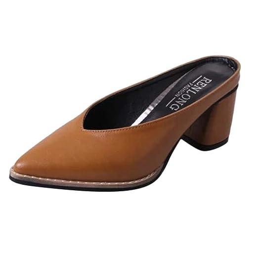 855d83cad1fa DENER❤ Women Ladies Slingback Platform Wedge Sandals Mules ...