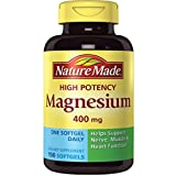 Nature Made High Potency Magnesium 400 mg - 150 Softgels