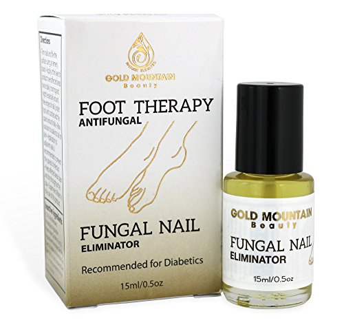 Gold Mountain Beauty Fungal Nail Eliminator with Tolnaftate and Puredia SeaBerry