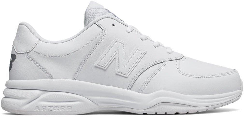 New Balance Men's 500V1 Leather Training Shoe B01NA8UW0C 7 2E US White