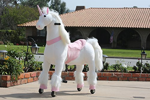 Buy Cheap MEDALLION - My Pony Ride On Real Walking Horse for Children 5 to 12 Years Old or Up to 110...