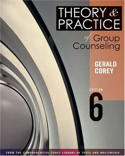 Theory and Practice of Group Counseling (with InfoTrac) (Available Titles CengageNOW)