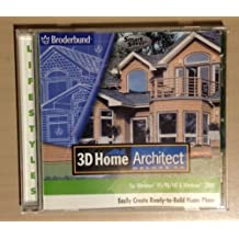 3D Home Architect (Deluxe 3.0, for Windows 95/98/ME & Windows 2000)