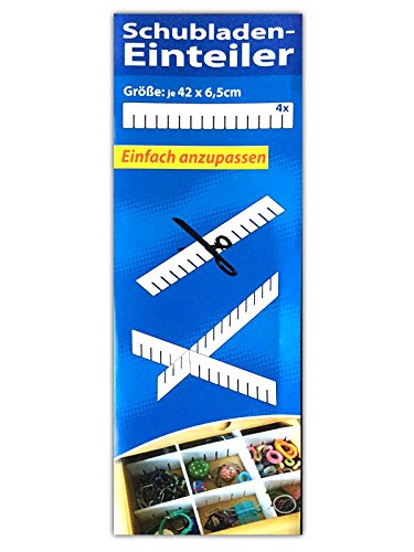 HAC24 32tlg Schubladenteiler Set Fachteiler Schubladeneinteiler Schubladen Einteiler