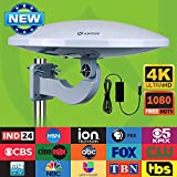 Outdoor HDTV Antenna -Antop Omni-directional 360 Degree Reception Antenna for Outdoor, Attic,RV used