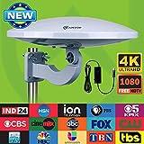 Best Indoor Attic Hd Antennas - Outdoor HDTV Antenna -Antop Omni-directional 360 Degree Reception Review