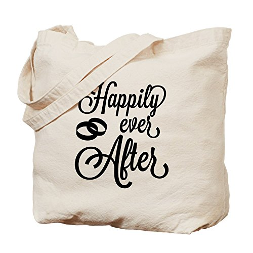 CafePress – Happily Ever After – Gamuza de bolsa de lona bolsa, bolsa de la compra