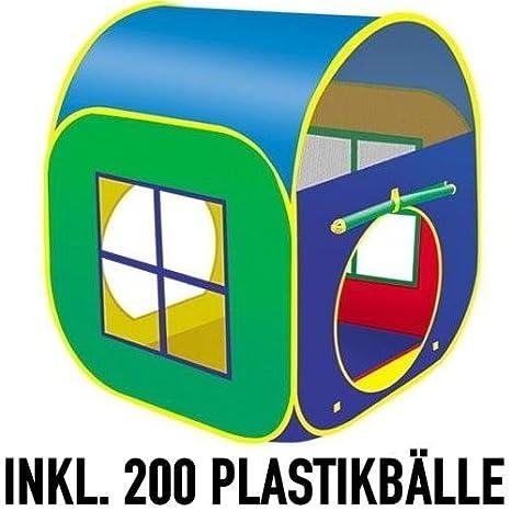 Spielzelt, Pop Up Zelt, Bällebad, Bällchenbad CT29 inkl. 200 TÜV ...