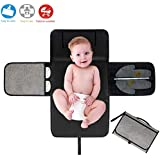 Portable Diaper Changing Mat, AYUQI Baby Changing Pad...