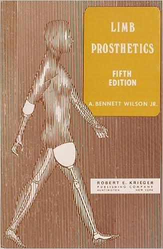 Limb Prosthetics, Wilson, A. Bennett, Jr.
