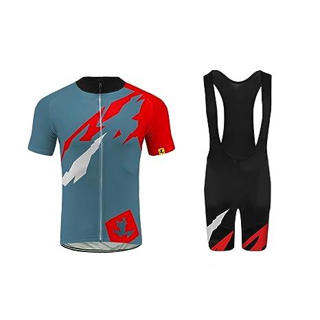 cc9b5d84a62b Uglyfrog Ciclismo Maglia Uomo A Maniche Corte Abbigliamento Set Mann Sport  Tuta Maglietta e Pantaloncini per