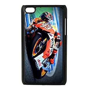 iPod 4 Black Cell Phone Case Marc Marquez Cell Phone Cases Protective