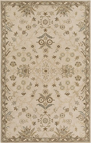 picture of Surya CAE1152-46 Caesar Hand Tufted Classic Accent Rug, 4-Feet by 6-Feet