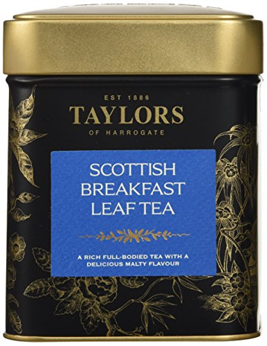 Taylors of Harrogate Scottish Breakfast Loose Leaf Tin - 4.4oz (Harrogate Scottish Breakfast)