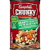 Campbell's Chunky Healthy Request Soup, Hearty Italian-Style Wedding with Meatballs and Spinach, 18.6 Ounce (Pack of 12)